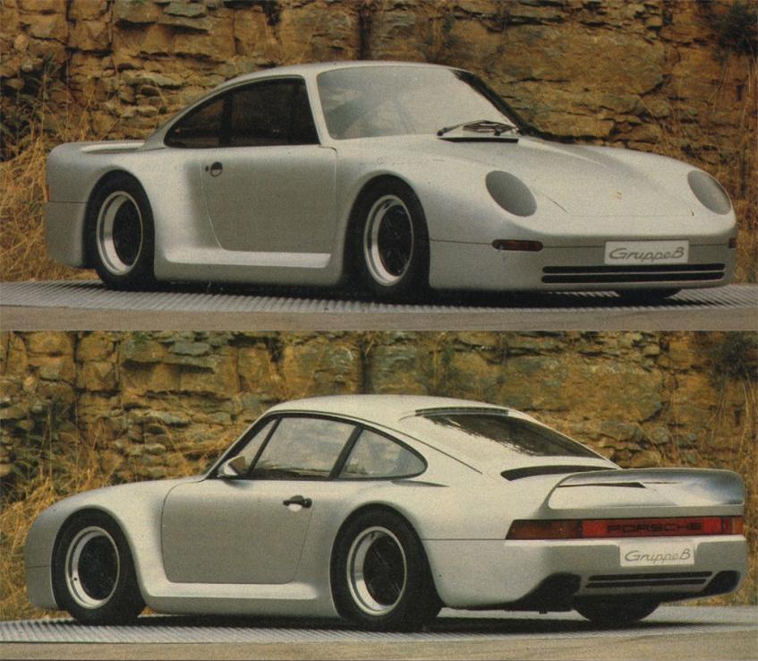 Porsche 959 Gruppe B Prototyp IAA 83