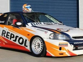 Repsol Racing - Honda Civic