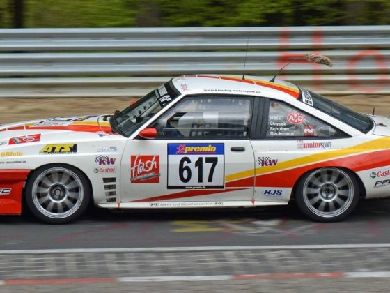 Opel Manta im Rennsport
