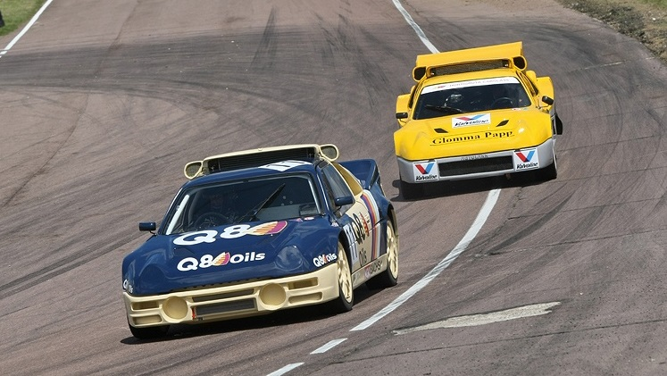 Ford RS200 - Q8 Oils - 4