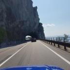 NISSAN 100NX in Italien, auf dem Weg nach Kroatien