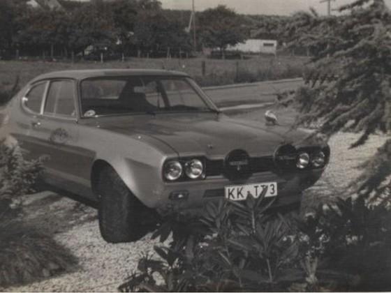 Ford Capri - ex Rennwagen mit Strassenzulassung - Bj. 1972, Hubraum über 2900cm³, 290 PS, Leergewicht ca. 980kg