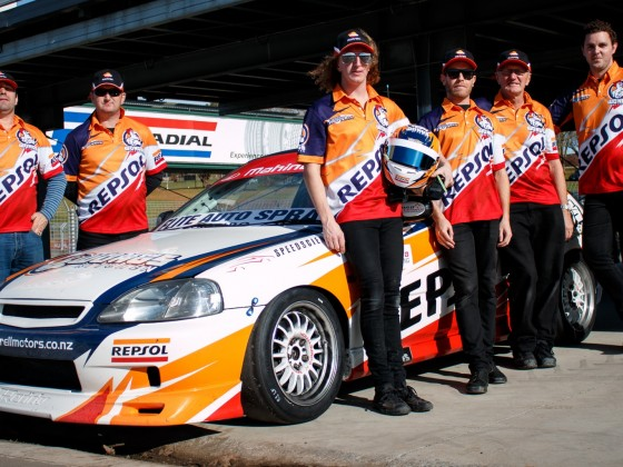 Repsol Racing Team - Honda Civic
