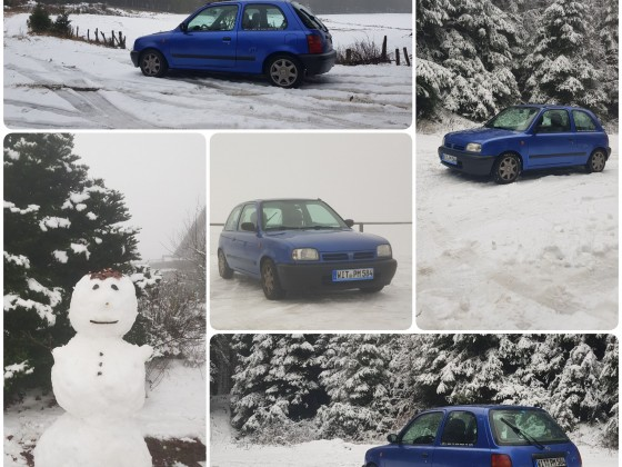 Erster Schnee 12/2020